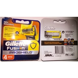 Gillette Fusion PROSHIELD 4 шт