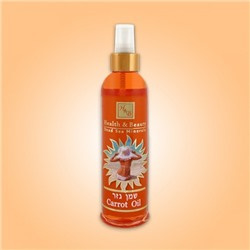 Морковное масло для загара, Health&Beauty Carrot Suntan Oil 250 ml